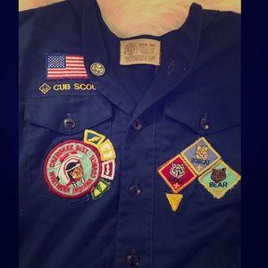 Tops - Authentic 80s Cub Scouts Uniform Top